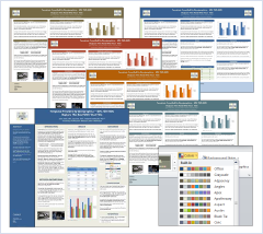 research poster printing and powerpoint templates | genigraphics, Modern powerpoint