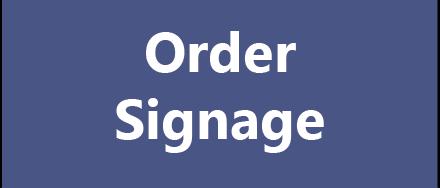Order Signage