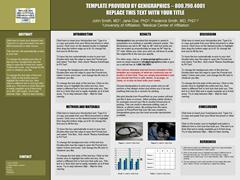 free powerpoint research poster templates | genigraphics, Presentation templates