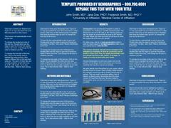 free powerpoint research poster templates | genigraphics, Modern powerpoint